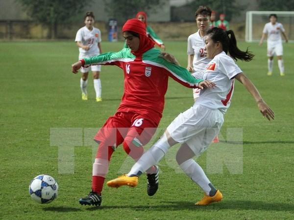 Vietnam clasifica a Campeonato asiatico sub 19 de futbol femenino hinh anh 1