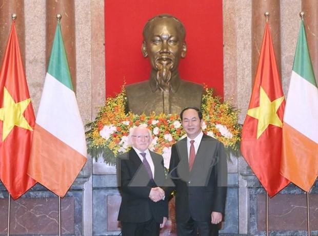 Vietnam e Irlanda acuerdan ampliar nexos de cooperacion hinh anh 1