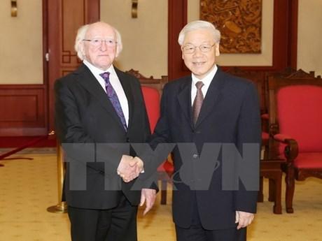 Irlanda aspira a consolidar los lazos con Vietnam hinh anh 1