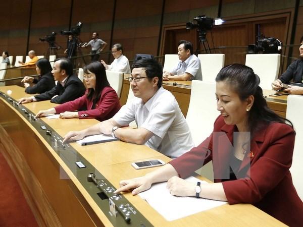 Parlamento vietnamita revisa enmiendas a la ley de comercio exterior hinh anh 1