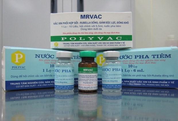 Vietnam logra producir vacuna contra sarampion y rubeola hinh anh 1