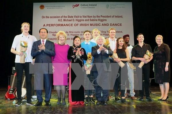 Programa artistico marca vigesimo aniversario de la amistad Vietnam -Irlanda hinh anh 1