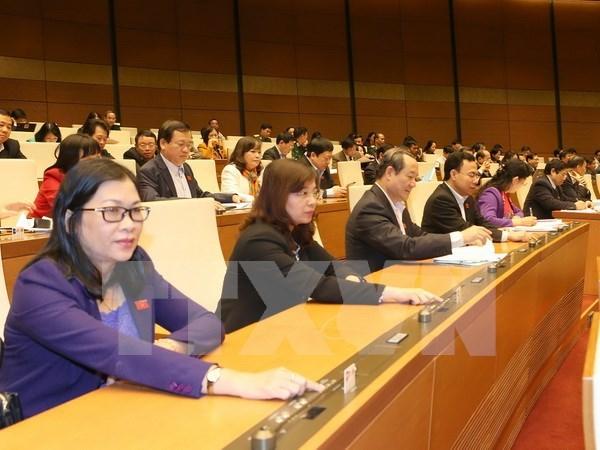 Parlamento de Vietnam aprueba resolucion de plan quinquenal de finanzas hinh anh 1