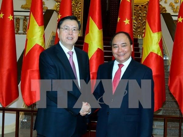 Premier de Vietnam enfatiza solucion para impulsar comercio con China hinh anh 1
