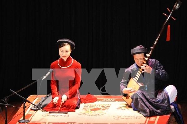 Celebraran en Hanoi semana de patrimonios culturales de Vietnam hinh anh 1