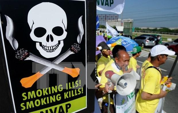 Vietnam asiste a conferencia internacional para el control de tabaco hinh anh 1