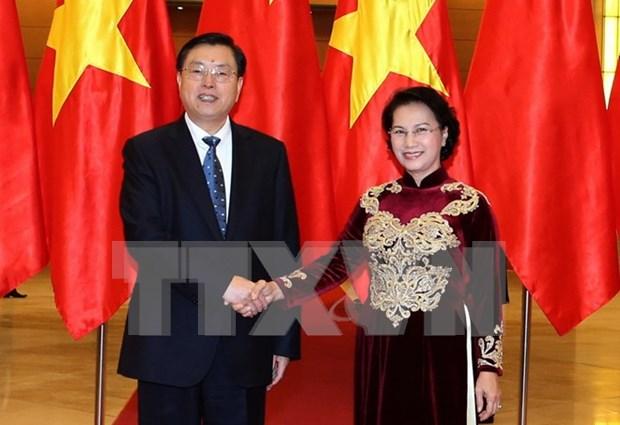 Fortalecen nexos legislativos entre Vietnam y China hinh anh 1