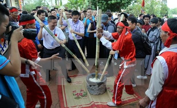 Jovenes de Vietnam y China participan en diversas actividades de amistad hinh anh 3