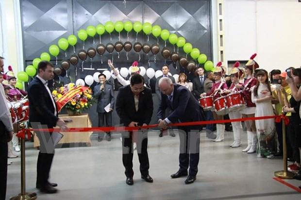 Inauguran en Rusia zona industrial de Vietnam hinh anh 1