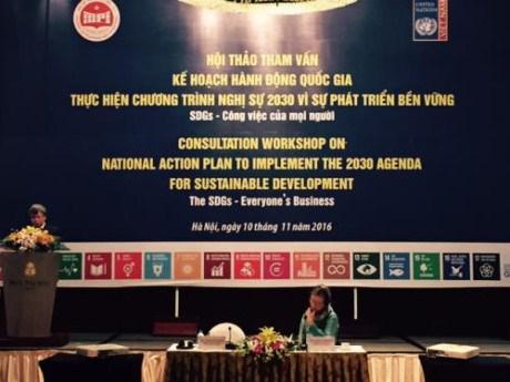 Vietnam se prepara para cumplir Agenda 2030 de la ONU hinh anh 1