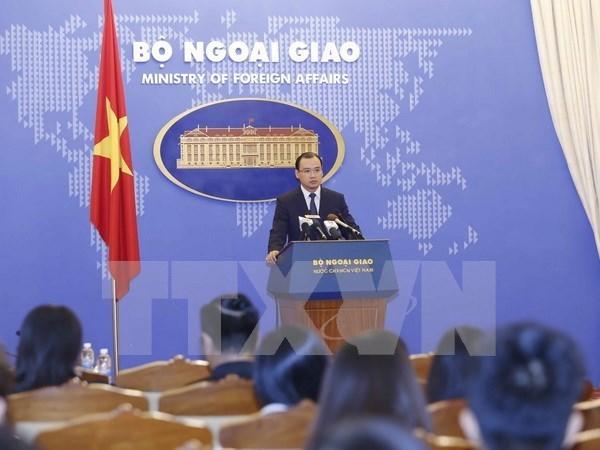 Vietnam se opone al uso de fuerza de Indonesia contra sus pescadores hinh anh 1