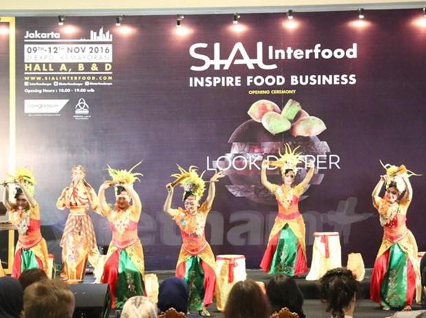 Vietnam participa en Feria Internacional Sial InterFood 2016 en Indonesia hinh anh 1