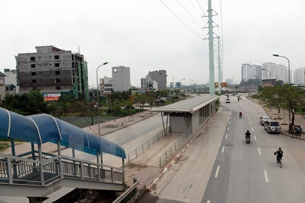 Hanoi pondra a prueba linea de autobus rapido en diciembre hinh anh 1