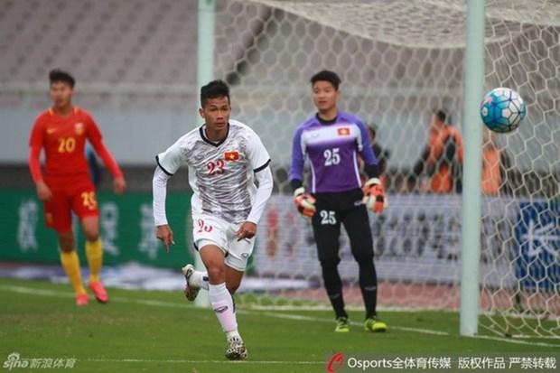 Vietnam empata con Mexico en torneo internacional de futbol hinh anh 1