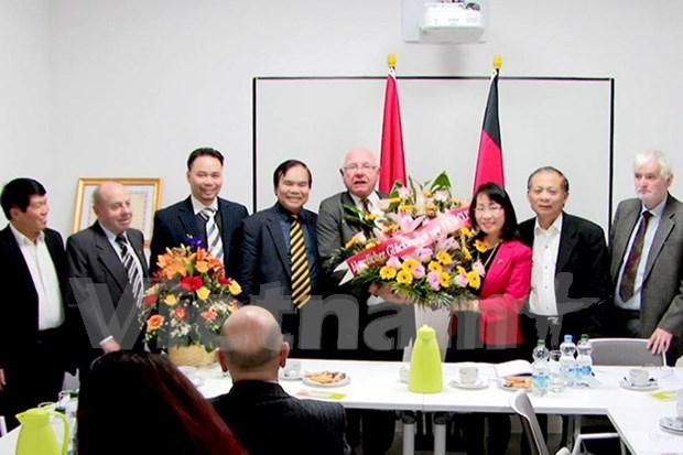 Asociacion Alemania-Vietnam impulsa nexos entre los dos paises hinh anh 1