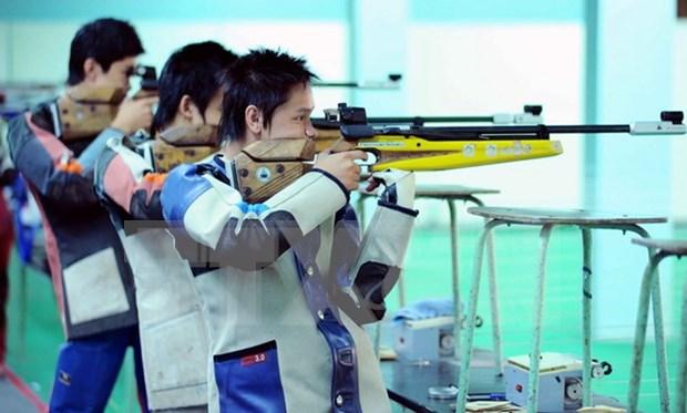 Vietnam triunfa en torneo regional de tiro hinh anh 1