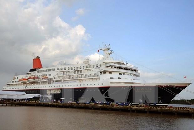 Barco juvenil Sudeste Asiatico-Japon visita Ciudad Ho Chi Minh hinh anh 1