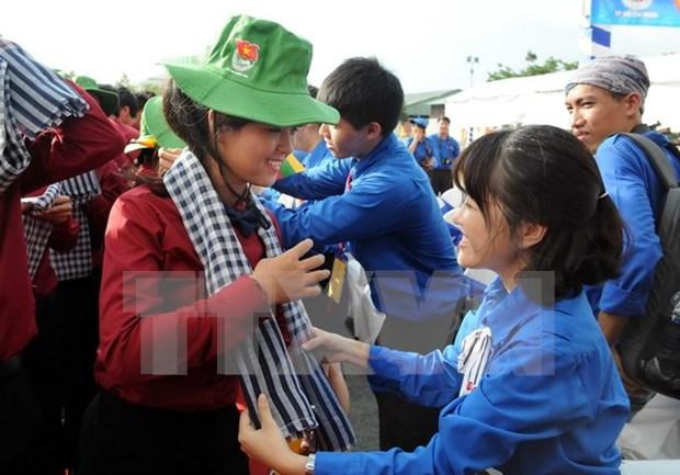 Barco juvenil Sudeste Asiatico-Japon visita Ciudad Ho Chi Minh hinh anh 2