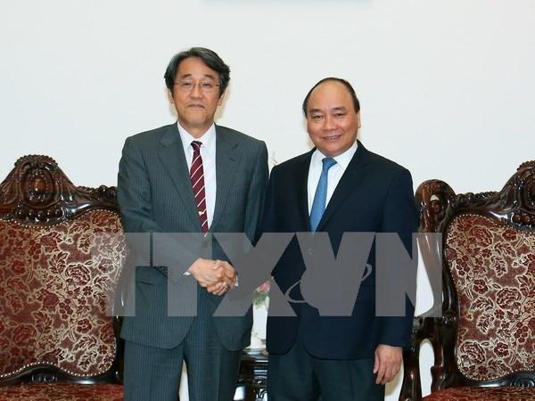 Premier de Vietnam exhorta mas inversiones de Japon hinh anh 1