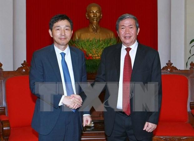 Vietnam y Sudcorea aspiran a 40 mil millones de USD de comercio bilateral hinh anh 1