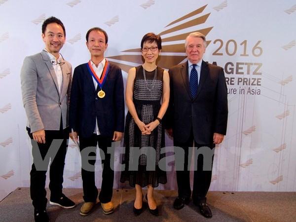 """Premio asiatico honra """"arquitectura de felicidad"""" de un vietnamita hinh anh 1"""