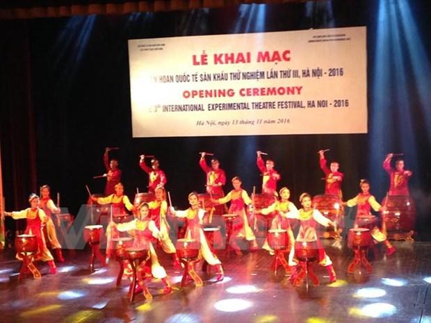Celebran en Hanoi Festival internacional de escena experimental hinh anh 1