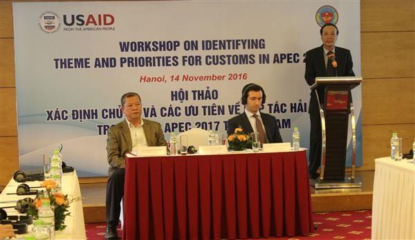 Prepara sector aduanero de Vietnam para APEC 2017 hinh anh 1