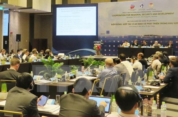 Expertos extranjeros pronostican evolucion de situacion en Mar del Este hinh anh 1