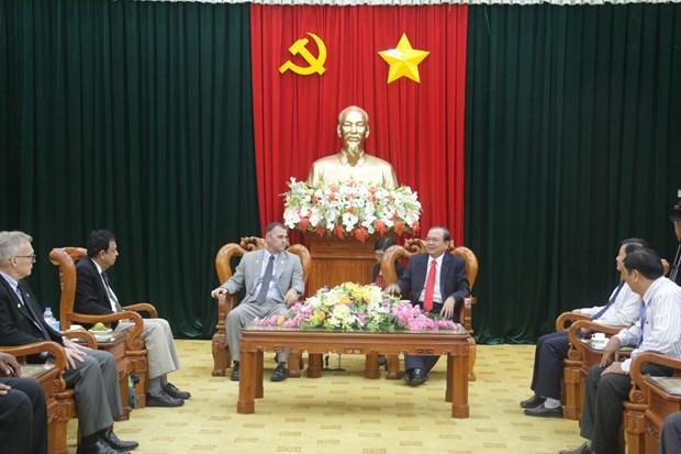 Region del suroeste de Vietnam y ciudad estadounidense fomentan cooperacion hinh anh 1