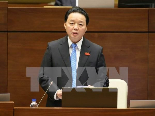 Ministro vietnamita aclara ante el Parlamento asuntos de interes del electorado hinh anh 1