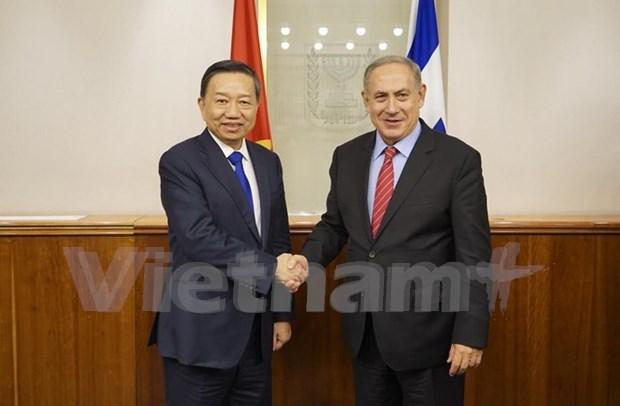 Vietnam e Israel hacia una cooperacion mas profunda y ampliada hinh anh 1