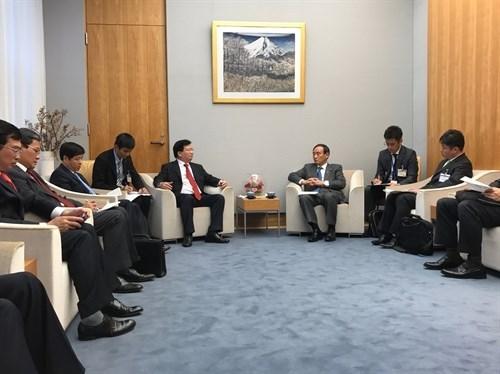 Vietnam y Japon acuerdan intensificar la confianza politica hinh anh 1