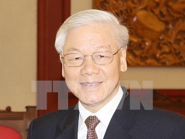 Secretario general del Partido Comunista de Vietnam realizara visita oficial a Laos hinh anh 1