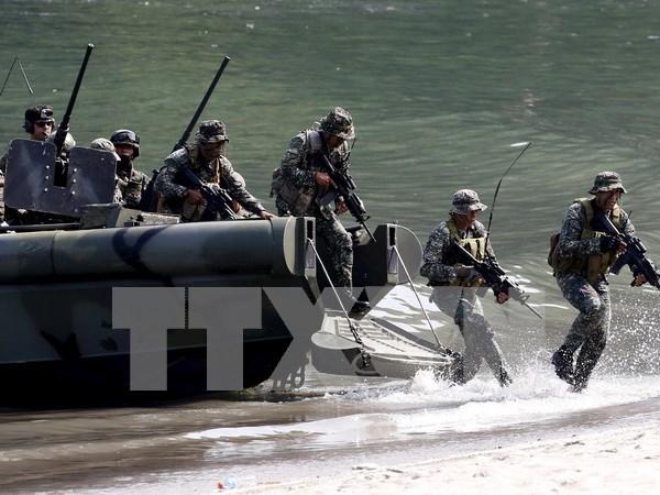 Fuerzas armadas de Filipinas y EE.UU. realizan ejercicios conjuntos hinh anh 1