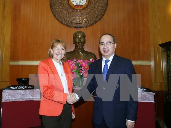 Vietnam solicita experiencias de Alemania en desarrollo de Pymes hinh anh 1