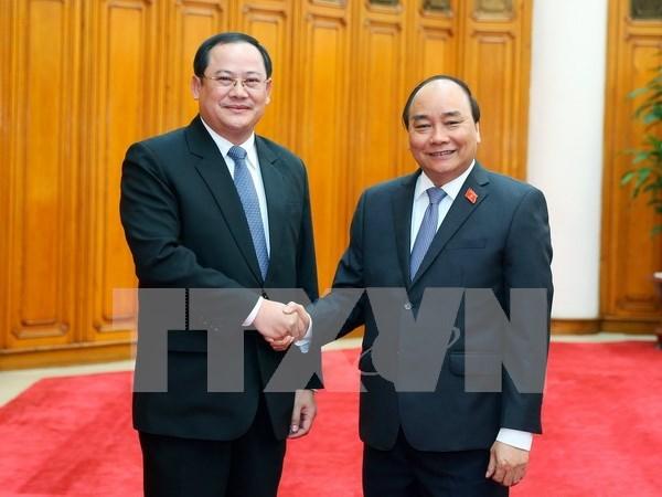 Vietnam y Laos aceleran proyectos conjuntos de inversion hinh anh 1