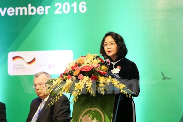 En Vietnam conferencia internacional sobre comercio ilegal de vida silvestre hinh anh 1