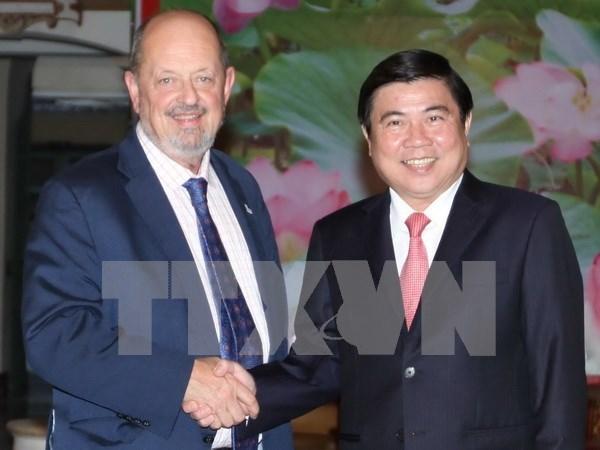 Promueven cooperacion Ciudad Ho Chi Minh y estado de Oregon, EE. UU. hinh anh 1