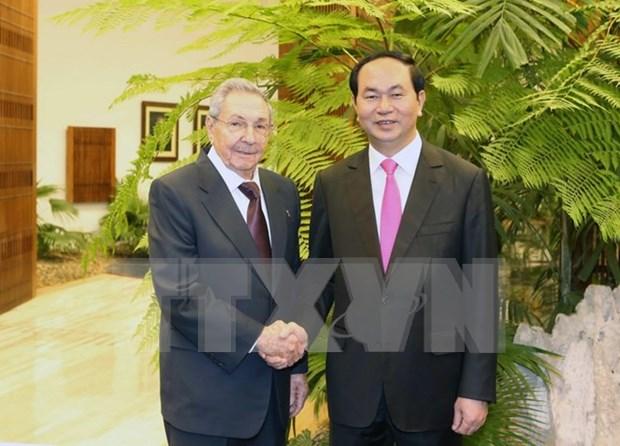 Emiten Vietnam y Cuba declaracion conjunta hinh anh 1