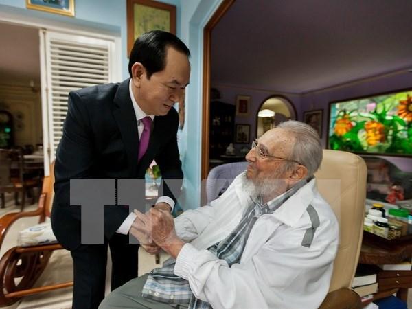 Presidente vietnamita confia en perspectivas de nexos con Cuba hinh anh 1