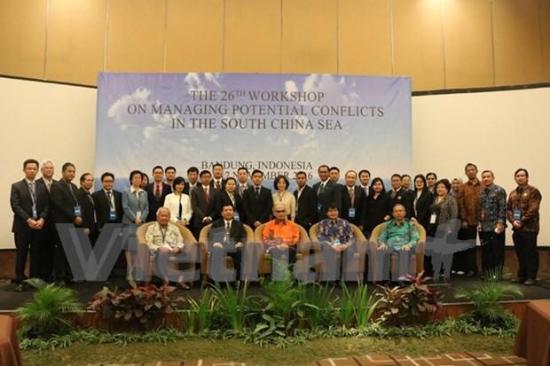 Celebran en Indonesia seminario sobre manejo de conflictos posibles en Mar del Este hinh anh 1