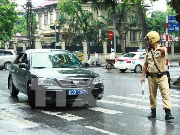 Efectuara en Vietnam Foro de policias de transito de ASEAN hinh anh 1