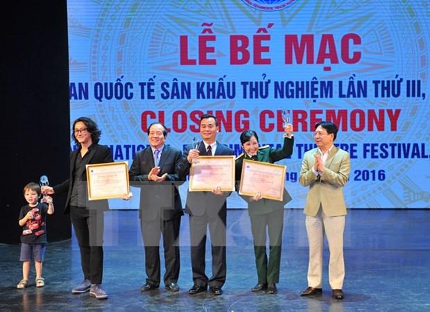 Clausuran Festival Internacional de Teatro Experimental en Vietnam hinh anh 1