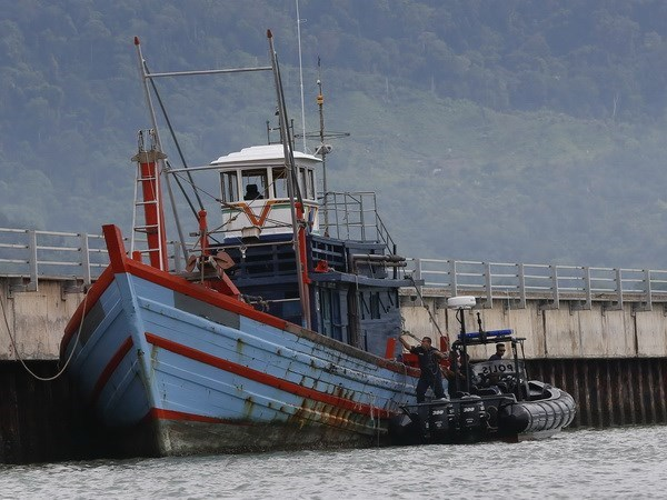 Dos pescadores indonesios fueron secuestrados en las aguas de Malasia hinh anh 1
