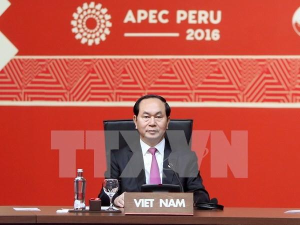 Vietnam llama a APEC a fortalecer sistema de comercio multilateral hinh anh 1