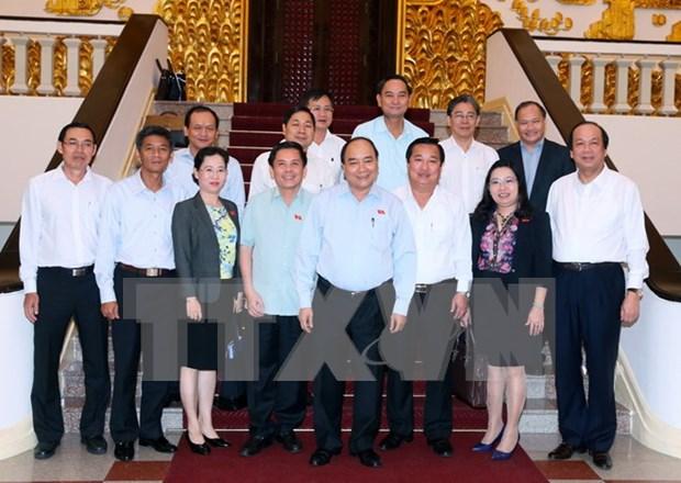 Premier urge a Soc Trang a enfocarse en productos de alto valor hinh anh 1