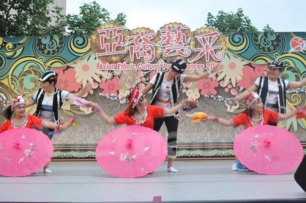 Vietnamitas participan en intercambio cultural asiatico en Hong Kong hinh anh 1