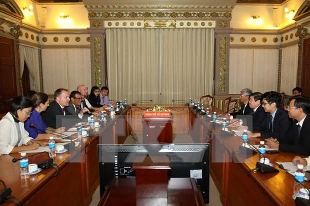 Ciudad Ho Chi Minh y Eurocham forjan cooperacion a favor de comunidad empresarial hinh anh 1