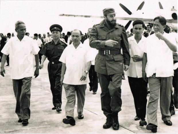 Fidel Castro: un amigo entranable de Vietnam hinh anh 5