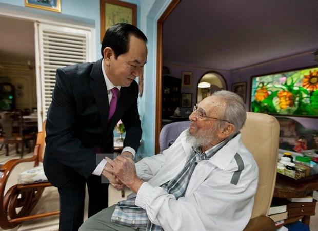 Fidel Castro: un amigo entranable de Vietnam hinh anh 2
